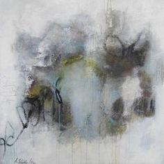 "Saatchi Art Artist Anna Schueler; Painting, ""THAT'S HOW THE LIGHT GETS IN"" #art"