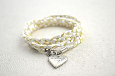 Simple-mother-daughter-jewelry-diy-wrapped-bracelet-step4.jpg ... I love this! See more awesome stuff at http://craftorganizer.org