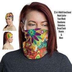 12 in 1 Multi-functional Neck Gaiter / Face Mask – protects against the sun providing a cooling effect on hot days too! Came and check! Our Etsy Shop has over 400 Gaiters to choose! Etsy HelsinkiFashionVibes- Fashion Neck Gaiters #adultsgaiter #balaclava #festivalgaiter #stylishgaiters #womenfacemask #womengaiter #flowersgaiterneck #neckgators #neckbuff #sunprotection #summerfacemask #festivalfacemask #scarf #beanie #floralfacemask #flowersfacemask #bandana #headband #facemask #facecovering Black Neck, Half Face Mask, Bohemian Design, Hot Days, Fashion Face Mask, Goa, Streetwear, Meditation, Mandala