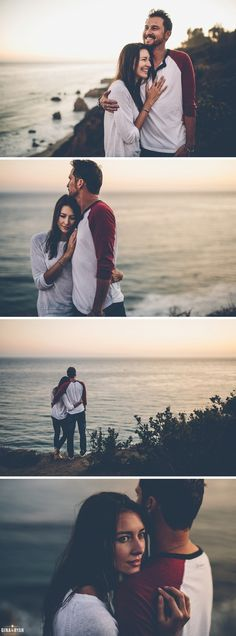 Beach Bluff Coastal Engagement Session Photos El Matador | Los Angeles Wedding Photography