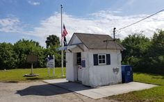The smallest Post Office in America.
