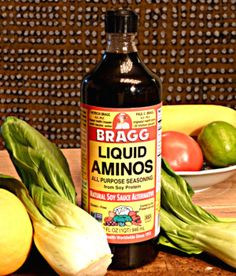 An excellent salt substitute is Bragg Liquid Aminos. Low Sodium Fast Food, Low Sodium Diet, Low Sodium Recipes, Low Cholesterol, Healthy Recipes, Healthy Foods, Salt Free Recipes, Salt Free Seasoning, Kidney Friendly Foods