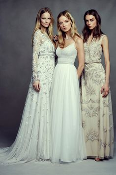 Boho Beauty - Bohemian Wedding Dresses from BHLDN