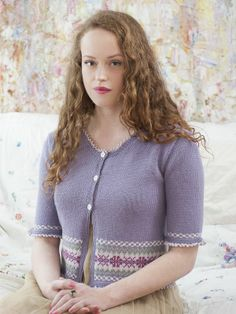 Mayfield - from Rooster's new pattern book 'Village Living'