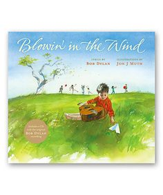 This Blowin' in the Wind Hardcover & CD is perfect! #zulilyfinds