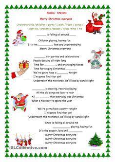 Merry Christmas Everyone Song Merry Christmas Everyone Merry Christmas Song Christmas Elementary