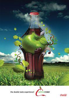 Apple Coke! by Ismael Bertamoni, via Behance Coke, Coca Cola, Behance, Apple, Apple Fruit, Cola, Apples