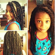 Can someone say ADORABLE! Lil'sis' is tooooo cute, rockin her FINGERCOMBER HAVANA TWISTS as a summer protective style . Look at those BEAUTIFUL EYES! Thanks @Lexi_Look, for sharing! #fingercomber #fingercomberhair #havanatwists #reusablehair #protectivestyle #protectivestyleforkids