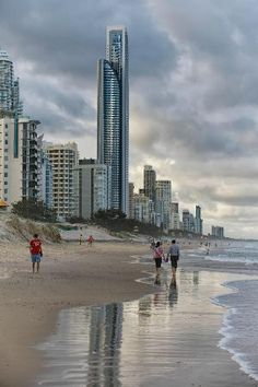 Surfers Paradise Beach, Queensland #Australia