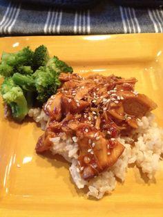 sesame chicken crockpot recipe