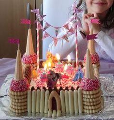 Les Mercredis de Julie : Gâteau château de Princesse Plus