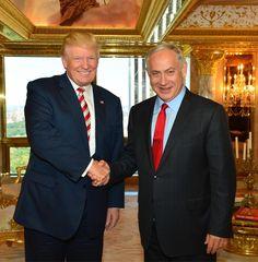 President-Elect Donald Trump and Prime Minister Benjamin Netanyahu