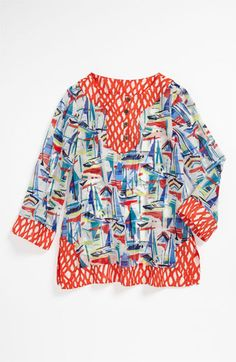 Milly Minis Tunic Cover-Up (Little Girls) available at Nordstrom