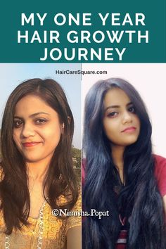My Hair Growth Journey Vol-2: How I Grew My Hair From 18 To 31 Inches This Year Long Hair Tips, Grow Long Hair, Hair Care Tips, Grow Hair, Grow Thicker Hair, Long Hair Growing Tips, Hair Care Routine, One Year Hair Growth, New Hair Growth