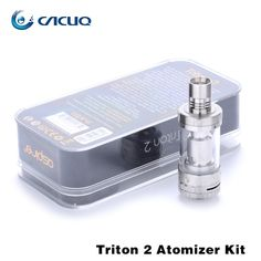 >> Click to Buy << 100% Original Aspire Triton 2 Tank 3ml Adjustable Airflow With Sub Ohm Coils RTA System Top Refilling Aspire Atomizer #Affiliate