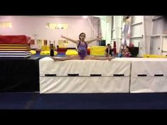 jump straddle and jump split mat drill