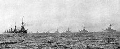 The British grand fleet at Jutland.