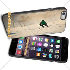 Sport Skiing14 Cell Phone Iphone Case, For-You-Case Iphone 6 Silicone Case Cover NEW fashionable Unique Design