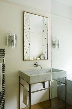 En-suite bathroom designed by Rose Uniacke - London Family House W10