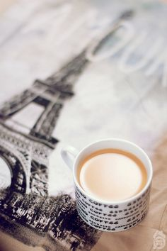 Paris & Coffee.....What could be better?