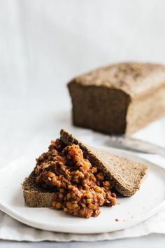 The best lentil sloppy joe made in less than 20 minutes in 1 pot! Super simple, delicious, high in protein, fiber, and minerals using lentils as the base.