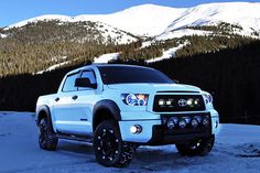 White Tundra Toyota photo