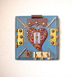 Industrial Steampunk Vintage Hardware by ABurgessshoppe62407, $85.00