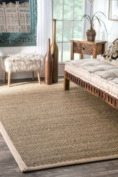 Nothing ties a room together—or adds a welcome dose of natural texture—quite like a natural fiber rug.   So if you're looking to do both, you can't go wrong with a jute or seagrass rug. These rugs can be quite expensive, but for this roundup we've put together a few budget-friendly choices here.