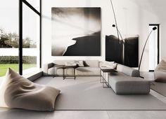 Contemporary & Minimalist Interior Design
