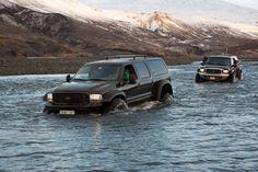 """Ford Excursion 46"""" Amazing Tours Iceland  Photo: Thorsten henn"""