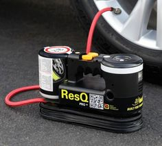 The 8-Minute Tire Repairer. DescriptionLifetime Guarantee This is the device that seals a tire puncture and inflates a flat in eight minutes. Eliminating the hassle of using a car jack and removing the tire, the unit connects to a tire valve and its compressor simultaneously pumps in air and a gel sealant