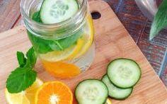 Água Detox Antioxidante de Laranja