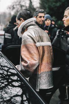 Street Style Paris Haute Couture Spring 2017 | @KatyaGuseinova