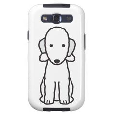 Bedlington Terrier Dog Cartoon Galaxy S3 Cases