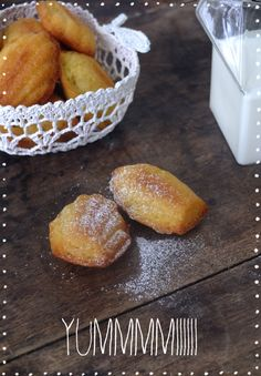 Madeleines citrons / gingembre - Make my Lemonade