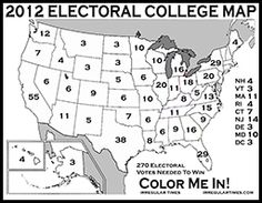 Electoral College Map To Print Out Www Picturesso Com
