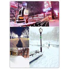 A nevasca anunciada ano passado ficou toda para esse ano! 77 cm de neve tá de parabéns!  #nevasca #blizzard #blizzardnyc #blizzardny #blizzard2016 #winterhascome #winterhasarrived #ny #nyc #newyork #snow #winter #jonas #blizzardjonas #snowstorm #snowpocalypse by natalia.m.pereira