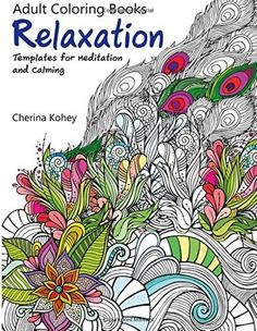 Adult Coloring Book: by Cherina Kohey( Paperback) (Volume 1) FREE SHIPPING NEW