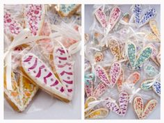 CBeebies' Charlie and Lola inspired butterfly biscuits.