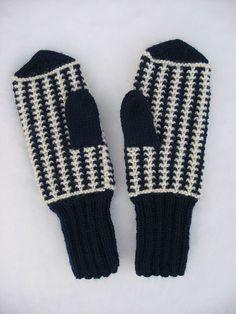 Vierivä sukkapuikko: Lumi ja lapaset Knitted Mittens Pattern, Knitting Patterns, Slipper Boots, Gloves, Slippers, Crochet, Hats, How To Wear, Diy
