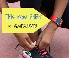 Love this new FitBit - does all the cool FitBit stuff like track steps, heart rate, sleep, etc, but also gets alerts from your phone.  Yep - you can read your texts on your FitBit!