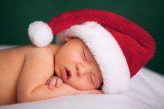 Christmas baby shot