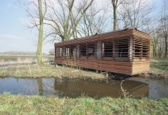 Bourgoyen Birdwatch-Bridges by ALT Architectenbureau