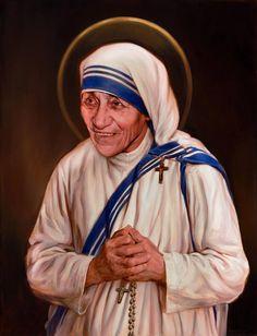 Hoje foi apresentado em Washington D.C. (Estados Unidos) o retrato oficial da canonização da Madre Teresa de Calcutá.