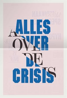 Alles Over De Crisis