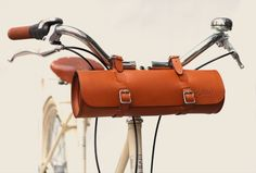 Bike bag that can attach in the front and back