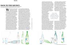 Maja Beus illustrates for VOGUE Entertaining & Travel Magazine - The Illustration Room