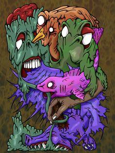 dragfishcolour by brewsterart.deviantart.com on @deviantART