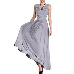 Preferhouse Womens Dresses Formal Evening Gown Long V-Neck Ruched Plus Size Exclusive - http://www.darrenblogs.com/2016/08/preferhouse-womens-dresses-formal-evening-gown-long-v-neck-ruched-plus-size-exclusive/