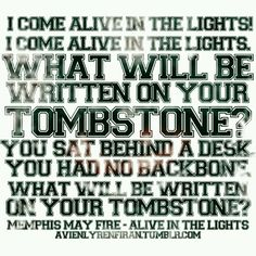 Memphis May Fire Lyrics